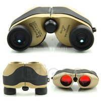 Wholesale F85 New x120 Spotting LED Scope Binoculars Telescope Optical Zoom m M Gold