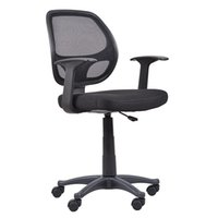 executive chair - Homall Furniture Mid back Swivel Mesh Seat Computer Swivel Lumbar Support Executive Office Chair Height Adjustable Black