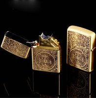 arc promotions - Big promotion Fashion constantine Electric arc USB lighter Copper upscale boutique charging lighter lighter Gift Box
