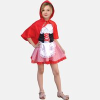 Wholesale Women cosplay anime paternity mother of women over Meng cute Little Red Riding Hood Halloween Stage Set