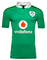 Wholesale 2016 ireland rugby jerseys thai quality Ireland shirts home green shirts S XL