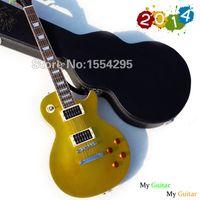 Wholesale Hot Selling Slash Standard Gold Top VOS Goldtop LP Electric Guitar with Hardcase