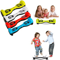 Wholesale Child Christmas Stockings - Stock In US ! 4.5 inch Bear Mini Scooter Smart balance wheels Scooter kids children Balance Hoverboard for Christmas Best Gift