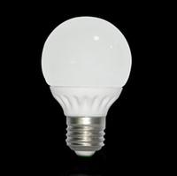 E27 LED Bombillas 3W 6W 360 degrés Angle de faisceau SMD 5630 Globe Lumières Ampoule Lampe 110V 220V 240V Lamparas céramique chaud blanc froid ROSH CE blanc