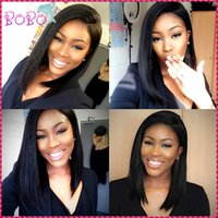 Wholesale 8A Brazilian Full Lace Wigs Straight Full Lace Human Hair Silk Base Wigs For Black Women Lace Front Wigs With Baby Hair