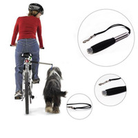 Wholesale Cheap Leashes For Dogs - 2016 New Cheap Pet Supplies Bike Dog Leash Hand Free Exercise Bicycle Dog Leash Traction Walking for Sale