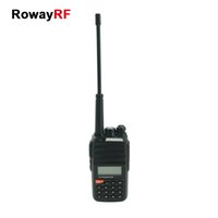 big savings - RowayRF Walkie Talkie Radios VHF UHF Dual Band Battery Saving Big LED Flashlight Two Way Radio Civilian Radios UD