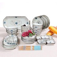 Wholesale ceramic tableware suit bone china crockery hand painted ceramics tableware