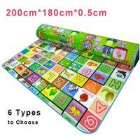 baby safe carpet - Kids Large Play Mat Rug Carpet Infant Children Bebe Gym Mat Playmat Baby Floor Games Mats Newest Safe Alphabet Mat Soft Toys