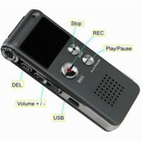 Wholesale 4GB Mini USB CL R30 Digital Voice Recorder Pen Hr Dictaphone MP3 Player Grey gravador de audio
