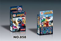 Wholesale 60lots Hot Sale Different Style Superheroes building blocks assembled toys children educational toys Gifts Action Figures jy287