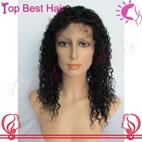 Cheap Brazilian hair brazilian curly lace front wig Best Big Curly Beyonce's Hairstyle human curly lace front wig