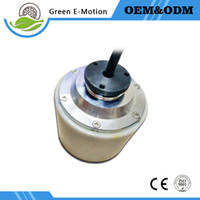 Wholesale latest small light white electric wheel motor inch hub motor V W electric scooter motor electric suilcase robot motor