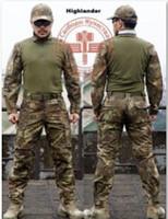 airsoft camo pants - Chief brand Kryptek mandrake camo color hunting shirt trousers pants set airsoft uniform summer