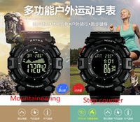 Wholesale Sports Watch Outdoor Climbing Running Fishing Multi Function Air Pressure Altitude Waterproof