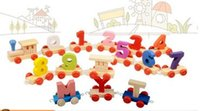 baby napkin rings - Wedding Decorations Wooden Baby Figures Little Train Infant Education Toys Originality Develop Intelligence Training Aids HS003