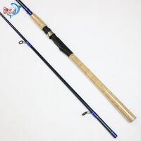 bass equipment - 2 m m Sea Bass Spinning Fishing Rod Carbon Everything For Fishing Equipment Bass Carp Carbon Fiber Fishing Rod Pole Pesca