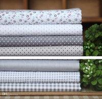 Wholesale Cotton Handkerchiefs Men Women cm Pocket Square Plaid Hankerchief Vintage crochet Hankies