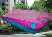 Wholesale Automatic Opening Tent Person Easy Carry Quick Hammock with Bed Nets Summer Outdoors Air Tents Fast Shipping