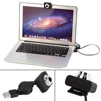 Wholesale Newest USB M Mega Pixel Webcam Video Camera Web Cam For PC Laptop Notebook Clip