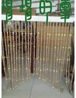 bamboo beaded curtains - Customized beaded curtain decorative curtain curtains personality hand woven curtain accessories peachwood evil
