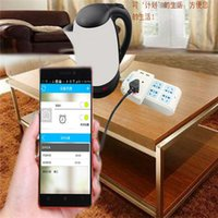 Wholesale Remote control of intelligent plugs intelligent plugs smart plugs connected with your mobil phone