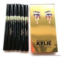 Wholesale Kylie Birthday Edition LEO Eye Shadow Eyeliner Pencil Black Liquid Eyeliner Long lasting Waterproof Eye Liner Pencil Pen Cosmetic Tools