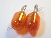 Wholesale 10pcs T20 Amber w21 w V W E4 wedges car bulb halogen lamp clearance lights OEM quality Emark CP153