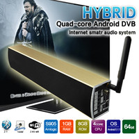 android sub - Android Tv Box DVB T2 KS2 Android5 S905 G G KODI BT2 G Wifi K HDMI2 With Sub Woofer Speaker Smart Tv Box Media Player