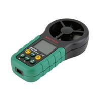 ambient air temperature - MS6252B Digital Anemometer Air Volume Ambient Temperature Humidity USB New hot