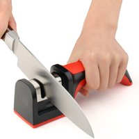 Wholesale High quality Knife Sharpener Household Sharpening Stone with suction pad Scissors Grinder whetstone Kitchen accessories Knives Tools