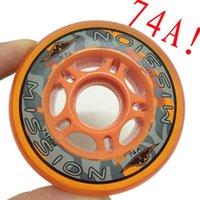 Wholesale Hardness A Professional Hokey Skating Wheels Inline Skates Wheel Patine Adulto Tires For Hokey Skates