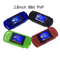 Wholesale Portable PVP POCKET inch Handheld Game Player pvp TV Out Bit Video Game Players for Christmas Xmas Gifts Kid Children Gifts