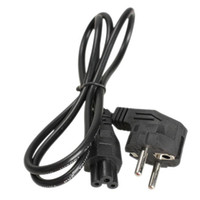 ac adapter lightweight - 1M EU Prong Pin AC Laptop Power Cord Adapter Cables Black Lightweight and high quality design