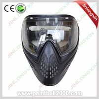 Wholesale Full Face Anti Fog Paintball Mask with DYE I4 Thermal Lens