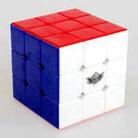 al por mayor niños juegos niños-6 piezas / Box Cyclone Boys Feiwu 56mm 3x3x3 Speed Magic cubo juego de rompecabezas cubos juguetes educativos para niños Niños