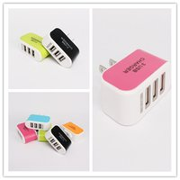ac laptop cooler - Triple USB Port Wall Home Travel AC Power Charger Adapter Samsung Galaxy Laptop Accessories Cool Gadgets