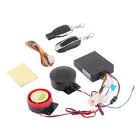 Wholesale New Set Motorcycle Motorbike Scooter Anti theft Security Remote Voice Alarm V hot selling