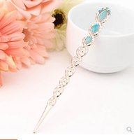 Wholesale 2016 Limited Time limited More Hair Go Artifact Classical Fashion Accessories Contracted No Tassel Double sided Hairpin Clasp A Word
