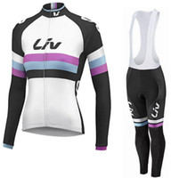 Wholesale Women liv cycling jersey long sleeve ropa ciclismo Bike cycling clothing maillot ciclismo mtb giant bicycle Jerseys Race Day