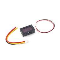 Wholesale New Arrival DC V Voltmeter Ammeter A Red LED Panel Amp Digital Volt Gauge Display