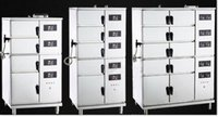 Wholesale HSC U E Eight Door Electric Power Multifunctional Intelligent V kw Combination Steam Cabinet Fish Rice Hotel Catering Business