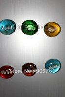 Wholesale Freies verschiffen teile los Glas stein kopfsteinpflaster Gravierten glassteinen mit worten