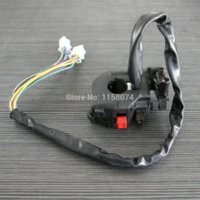 Wholesale Brand new Universal ATV Motorcycle Start Switch Light Turn Signal Switch Start flameout and Headlight Dimmer Plastic