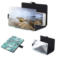 apple hd movies - Arealer D Screen Magnifier for iPhone s Folding Portable Movie Video Enlarge Mobile Phone Stand HD Amplifier Phone Holder