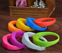 Wholesale Brightness voice control led flashing bracelet led flashing silicone led bracelet wristband for cheer party