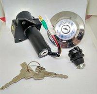 Wholesale yamaha ybr125 key set MAIN SWITCH STEERING LOCK SWITCH ASSY