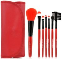 Wholesale 2016 high quality useful mini Synthetic Hair professional makeup brush set cosmetic face care tools