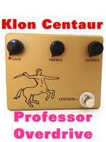 Wholesale Klon Centaur Professional Overdrive Guitar Pedal CLONE