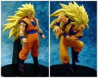Wholesale 17cm Dragon ball Budokai Goku Super Saiyan Anime Action Figuresnewest Dragon Ball Z Heroes Son Goku Figure Collectible Model Toys Doll